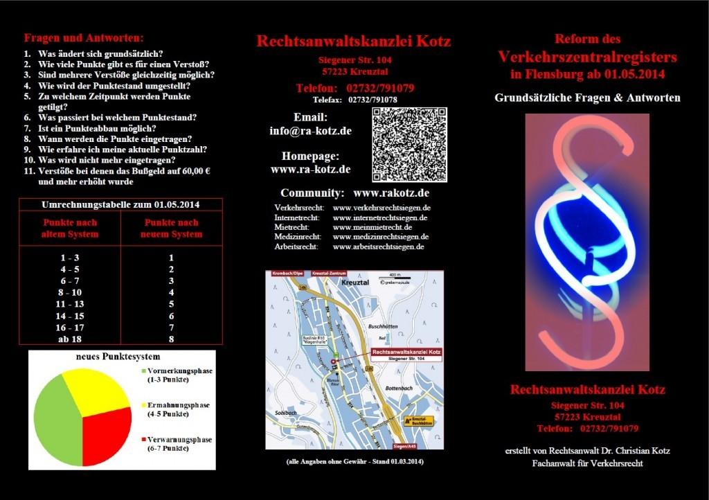 FlyerVerkehrszentralregisterSeite1