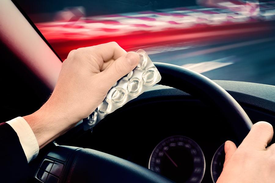 Fahrt unter Drogen