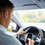 Ipod Touch Nutzung während der Fahrt