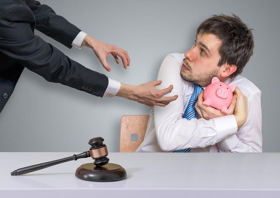 Zwangsvollstreckung von Bußgeldbescheiden - Verhängung von Erzwingungshaft - Teilraten