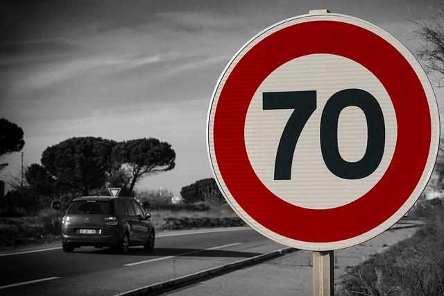 Geschwindigkeitsmessung - Identifizierung anhand eines schlechten Lichtbildes