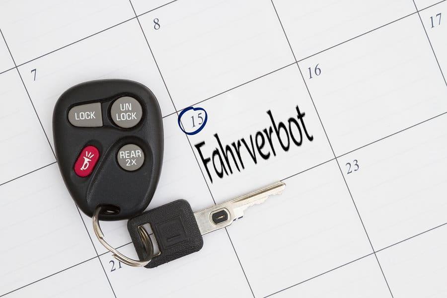 Fahrverbot: Kann der Fahrverbotsbeginn frei gewählt werden?