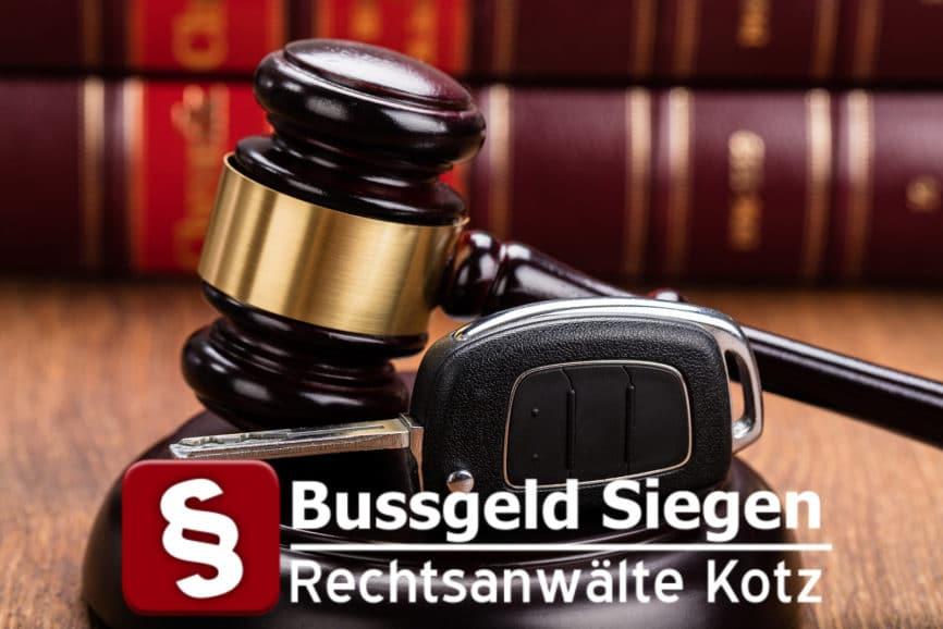 Bussgeld Siegen