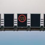 Geschwindigkeitsübertretung - Mißachtung mehrerer Verkehrszeichen in Geschwindigkeitstrichter