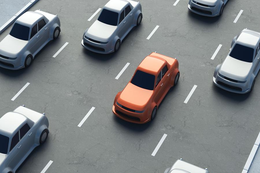 Geschwindigkeitsmessung durch Nachfahren unter Verwendung einer Video-Verkehrsüberwachungsanlage