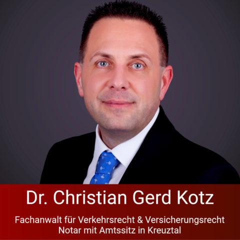 Rechtsanwalt und Notar Dr. Christian Gerd Kotz, Kreuztal