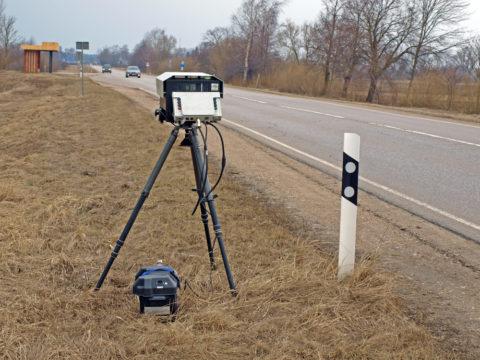 Geschwindigkeitsmessung mit PoliScan Speed Messgerät – weiterer Toleranzabzug