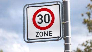 30er Zone Bußgeldkatalog