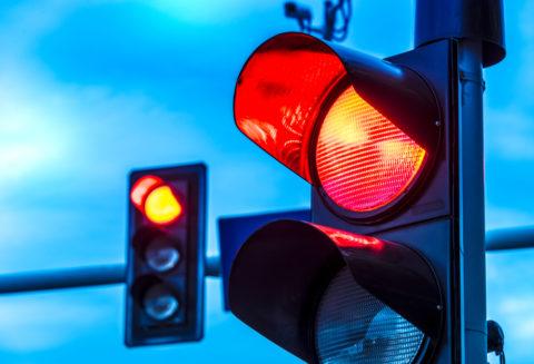 Rotlichtverstoß im Bußgeldkatalog
