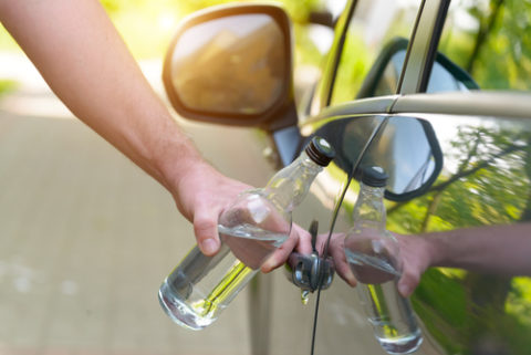 Alkoholfahrt - Absehen von einem Fahrverbot