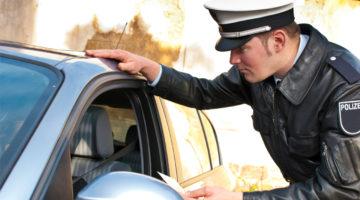Verkehrskontrolle Polizei