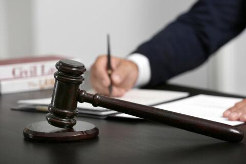 Bußgeldverfahren - Lesbarkeit der richterlichen Urteilsunterzeichnung