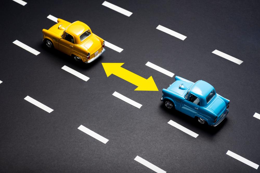 Unterschreitung Sicherheitsabstand - Feststellungen hinsichtlich Vorsatz des Fahrzeugführers
