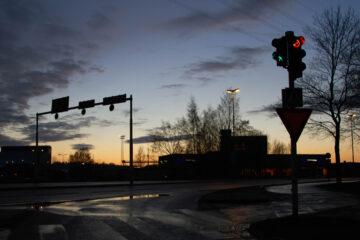 Fahrverbot – qualifizierter Rotlichtverstoß – fehlende Ortskenntnis